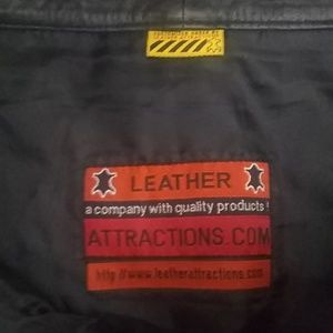 Leather Attractions com Skirts - Leather Attractions.com Black Genuine Leather Mini